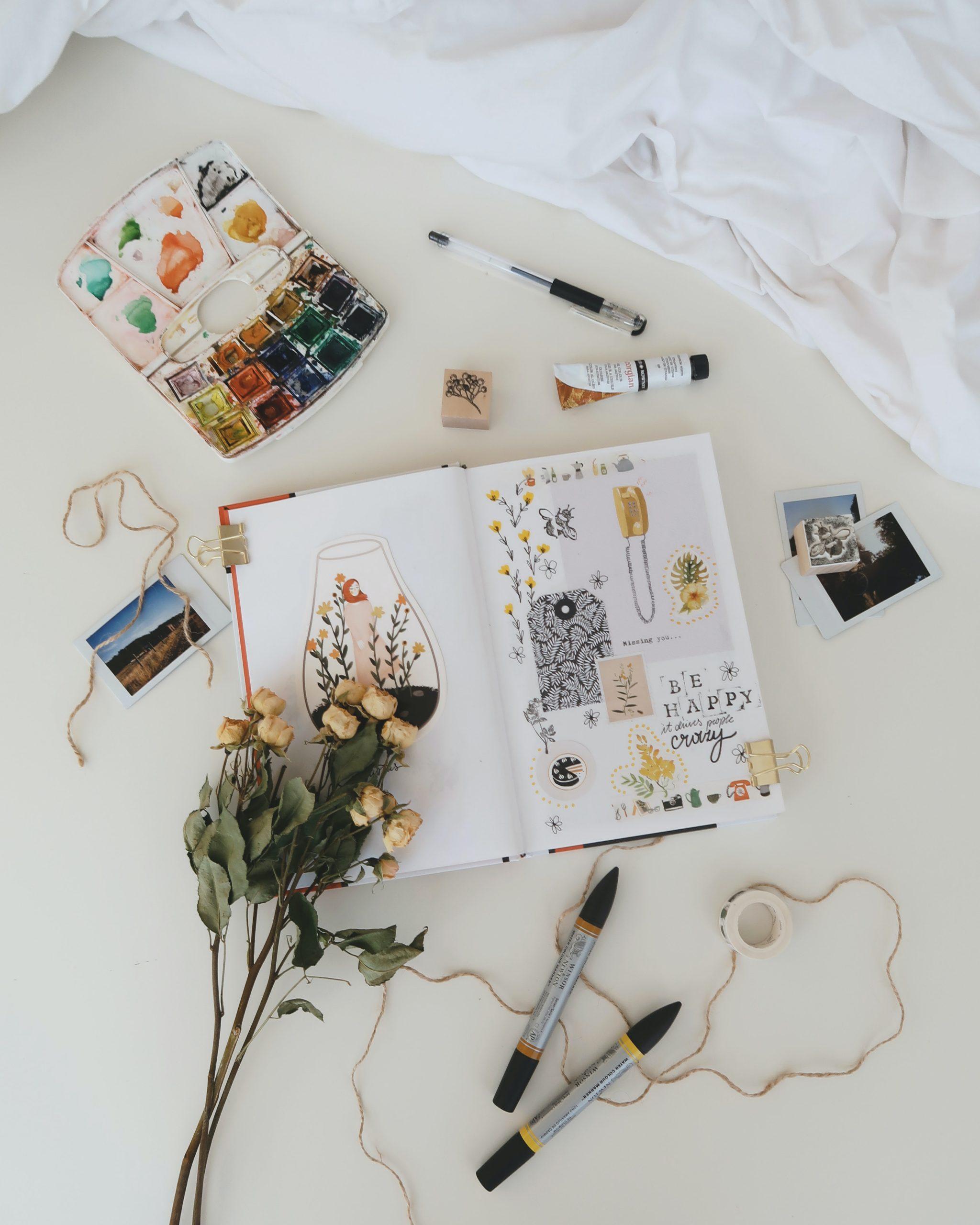Mon matériel aquarelle et dessin